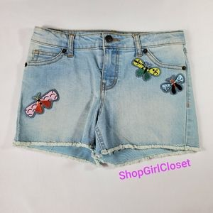 Cat & Jack Jean Shorts Girls sz L(10/12)
